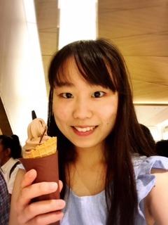 チョコレートのソフトクリーム