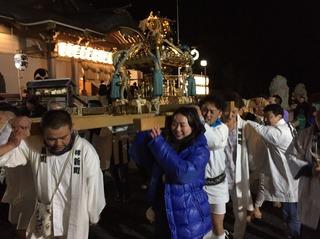 本牧神社 お神輿