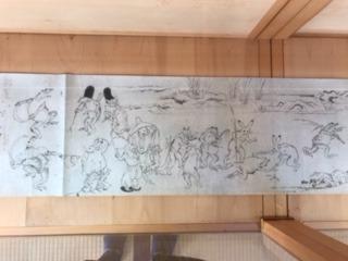 高山寺 鳥獣戯画
