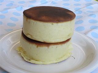 5月厚いホットケーキ